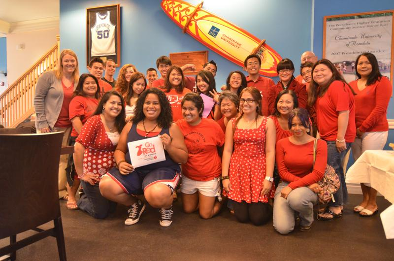 Chaminade University hosts National Wear Red Day