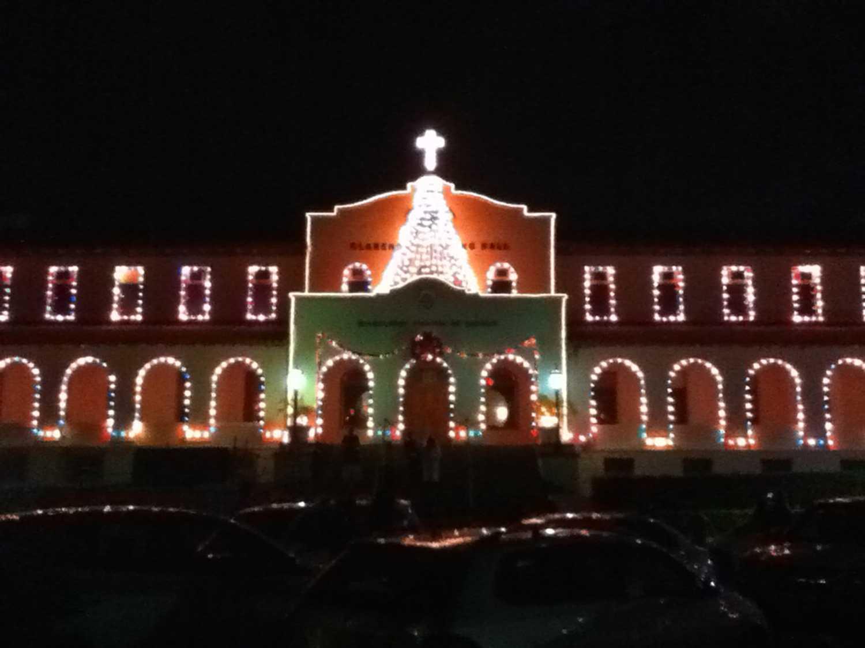 Christmas Decorations At Haskins : Chaminade silversword las posadas procession and