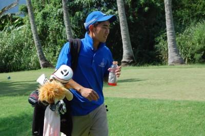 Shy Harada makes CUH men's golf history