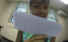 Procrastination is a slippery slope