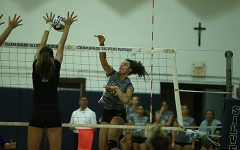 Big win for Silverswords' volleyball team