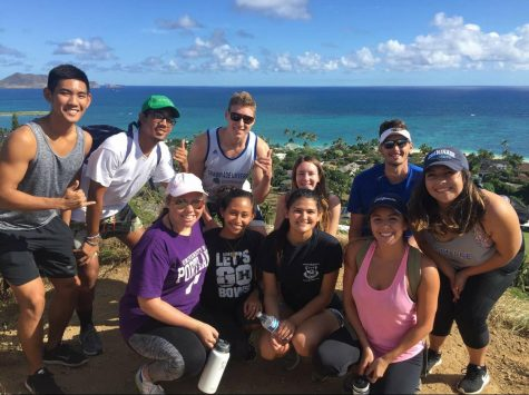 CUH Professor Commutes From Maui to be Home with His Family