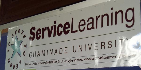 Chaminade University celebrates its service learning