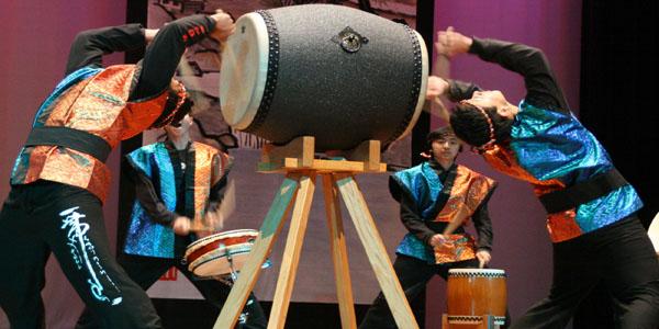 'The art of taiko'