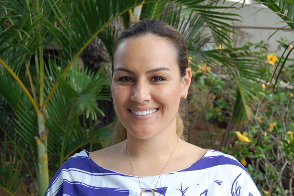 Chaminade alumna and new head coach Kahala Kabalis is looking forward to revamping the women's volleyball program.