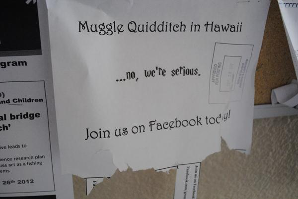 Quidditch comes to Hawai`i