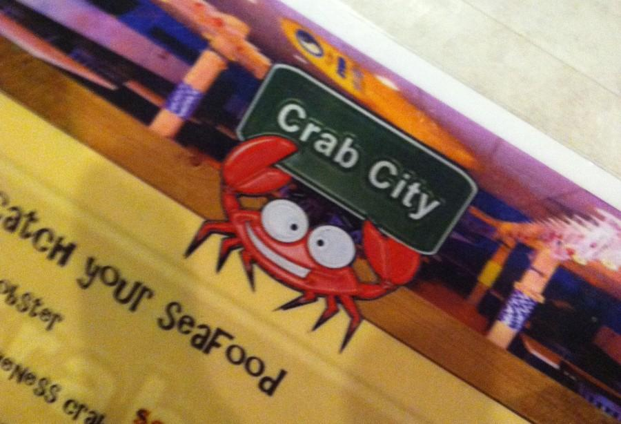 Welcome to Crab City. Photo by Carol Stacy