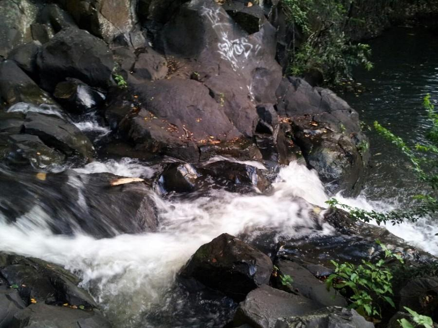 Kapena Falls wows, mosquitoes bite in beautiful hike