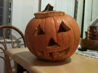 Turn any pumpkin into a customly-created jack-o-lantern.