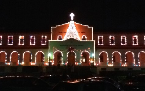 Las Posadas procession and Lighting of the Campus ready Chaminade for Christmas