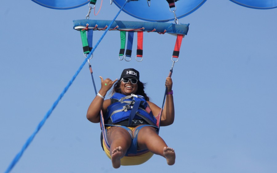 Parasailing to new heights for yet another Bucket List