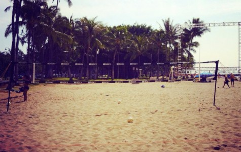 Sand, sun and volleyball