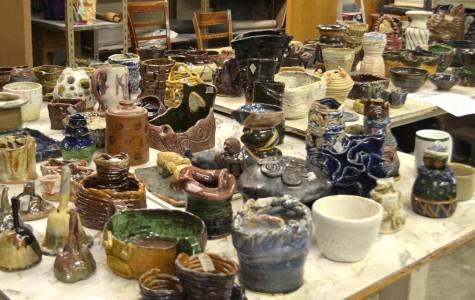 Ceramics department busts out Pot Sale