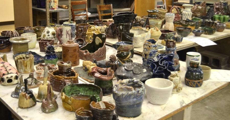 Ceramics department busts out Pot Sale