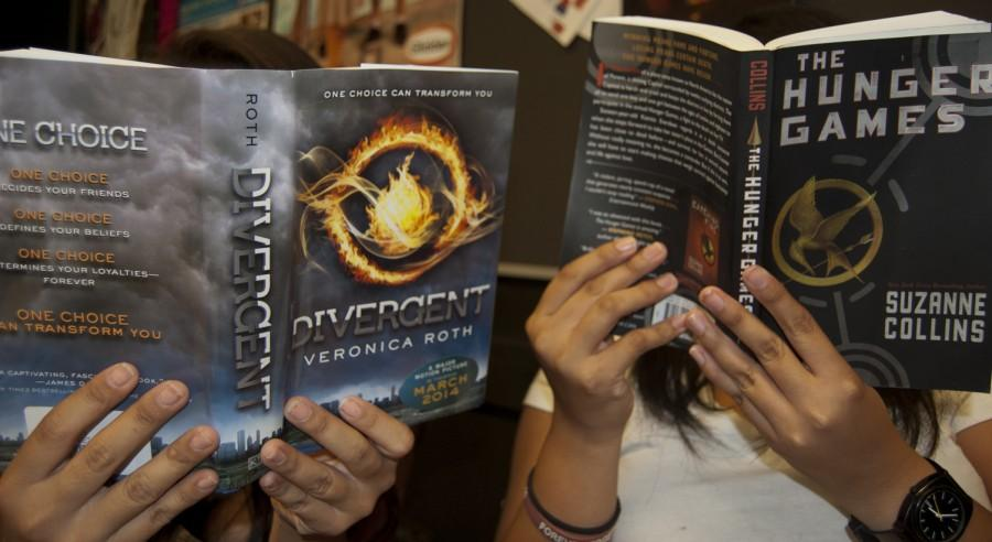A guide: 'The Hunger Games' and 'Divergent'
