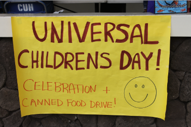 Chaminade students relive childhood on Universal Children's Day