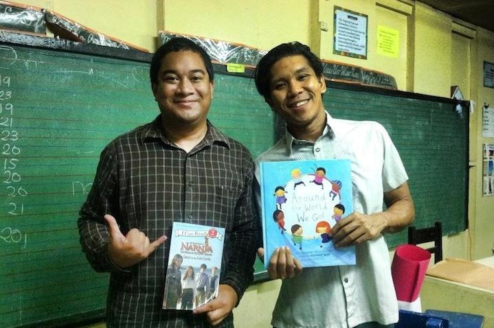 Chaminade junior helps Typhoon Haiyan victims, donates books