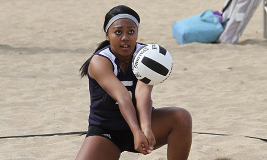CUH volleyball faces 'tough competition' in UH sand tourney