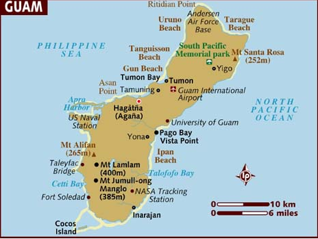 Fun facts about Guam