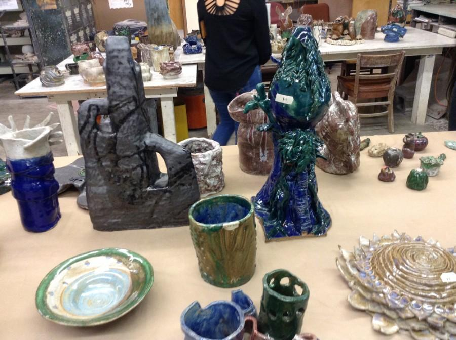 CUH Ceramics show off skills at pottery sale