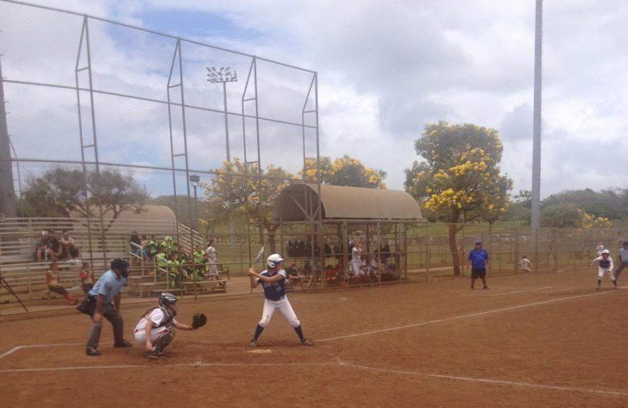 Loss for CUH softball team in season finale doubleheader