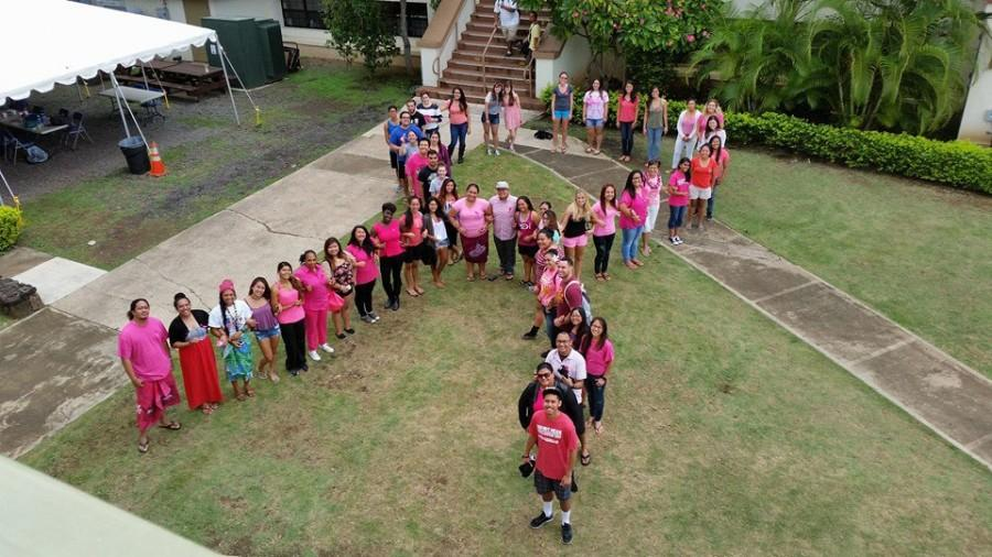 CUH+takes+part+in+helping+spread+breast+cancer+awareness