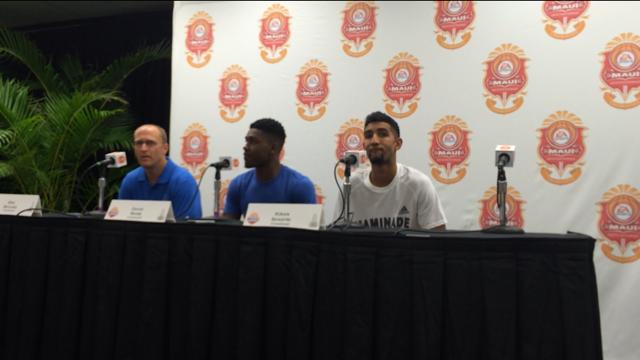 Chaminade men's basketball fall to BYU at the Maui Invitational