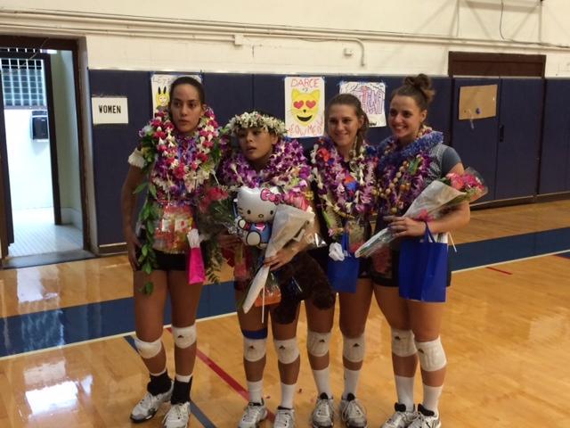 CUH volleyball ends improved season against BYU-Hawaii