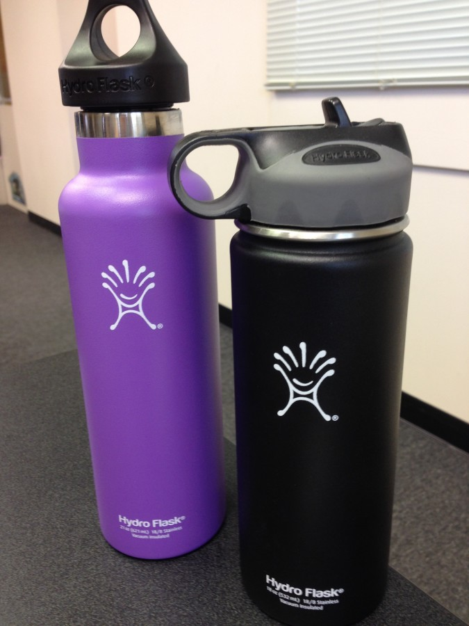 My 21-ounce acai purple Hydro Flask has changed my life