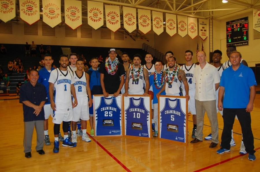 Men's Basketball Finishes The Season Strong On Senior Night