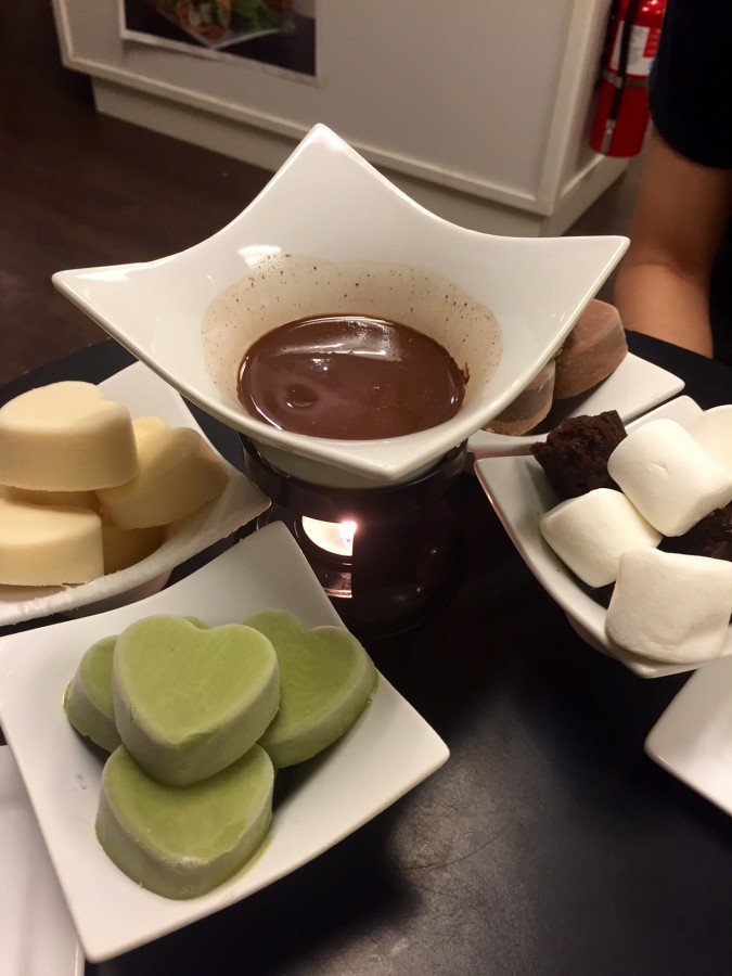 Ice Cream Fondue Overload