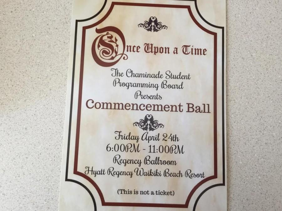 Chaminade's Annual Commencement Ball 2015