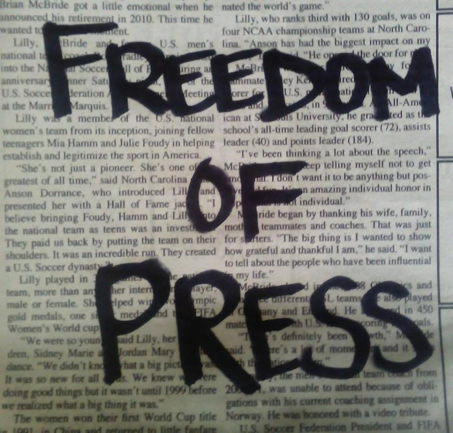 Freedom of the Press: liberty or constraint?