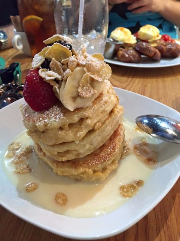 Milk and Cereal Pancakes (Scratch Restaurant)