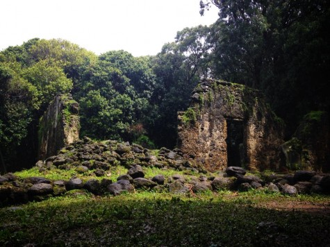 The last of King Kamehameha's summer palace.