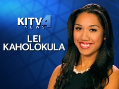 Chaminade alumna Lei Kaholokula is living out her dreams on television as KITV4 News weekday morning traffic reporter