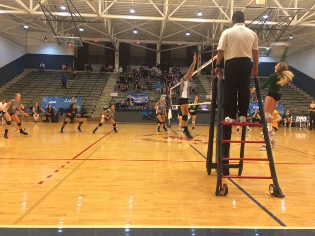 The Lady Swords were defeated by Dixie State and Point Loma
