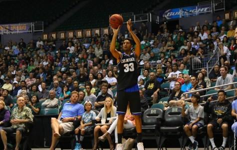 Men's basketball loses in OT against UH