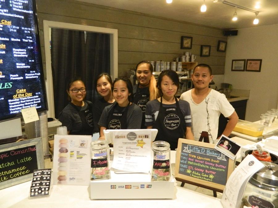 Teapresso Bar II staff and founder Steve Nguyen