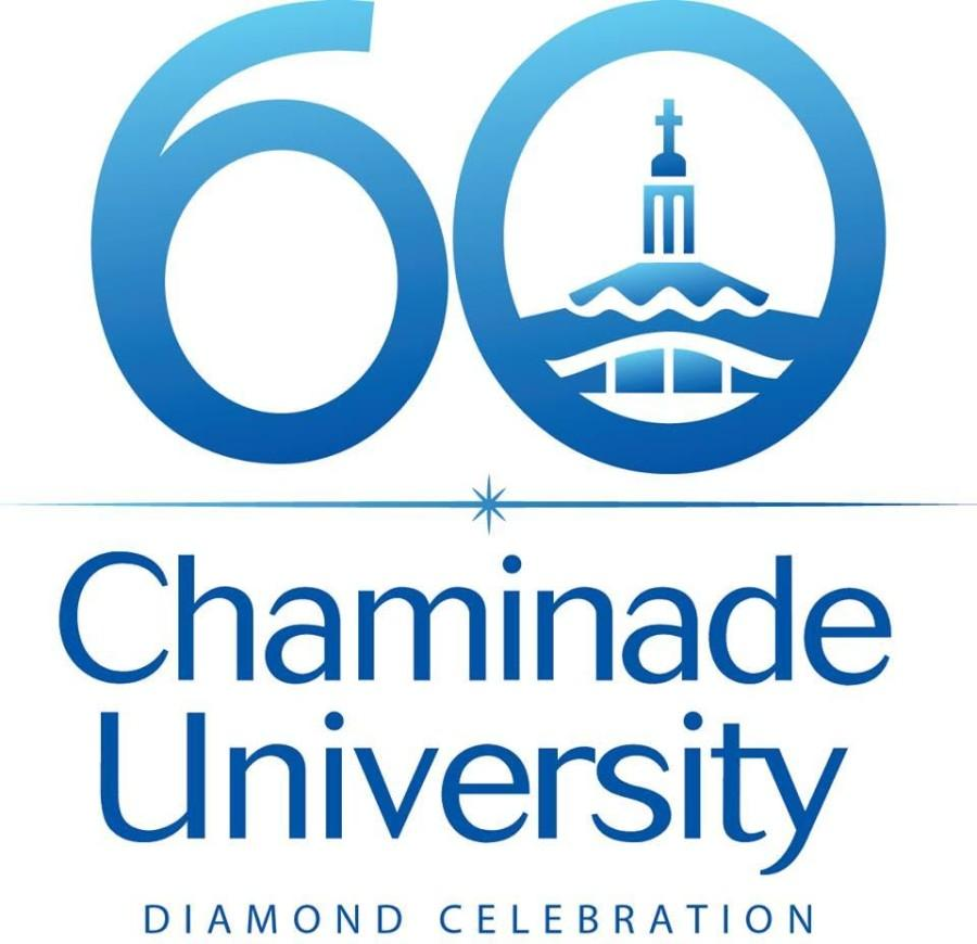 The logo for Chaminade's 60th anniversary.