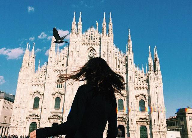 Gothic+Duomo+di+Milano+cathedral%2C+one+of+Milan%27s+biggest+attractions%2C+is+just+one+of+the+many+exquisite+sites+in+Italy.