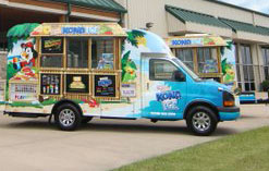 Kona Ice is one of the vendors that has been coming to Chaminade recently.