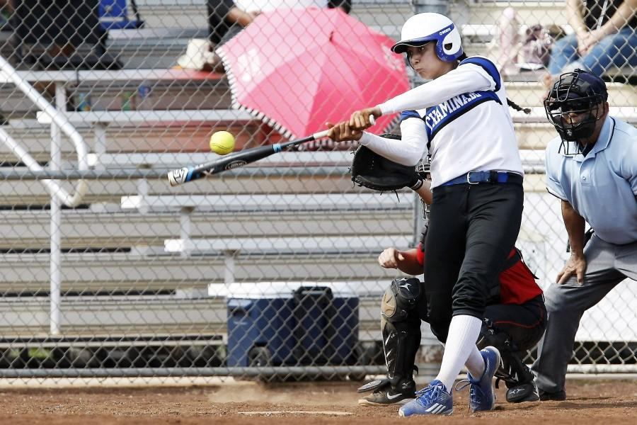 Keani Passi goes from playing volleyball to softball continuing to be successful.
