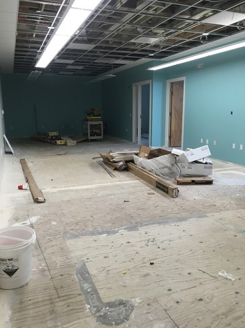 The new office will offer a space for seven full-time staff and one graduate assistant.