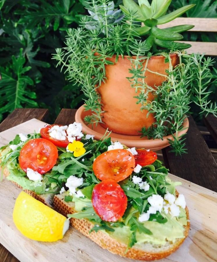 A customer favorite by far: The Loaded Avocado Toast.