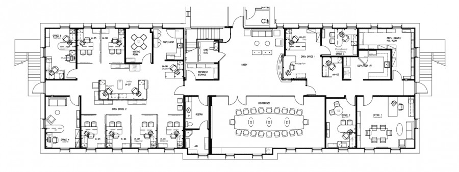 The+floor+plan+for+the+renovation+on+the+Presidential+level+of+Ching.+