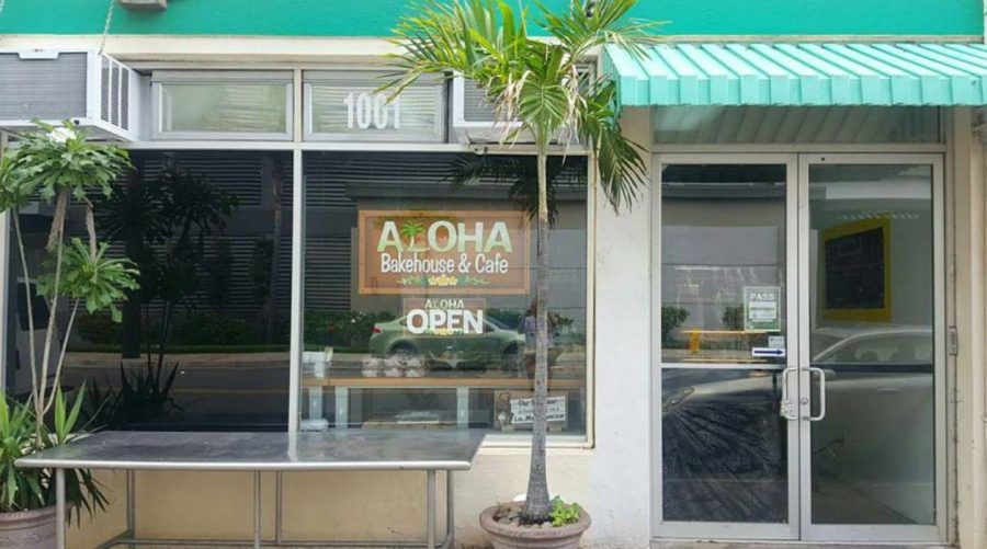 Aloha Bakehouse & Cafe serves delicious baked goods and coffee for reasonable prices.
