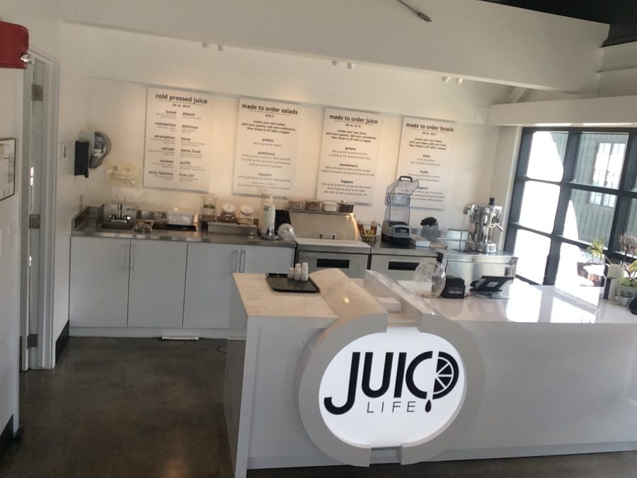 Juicd Life offers an array of delicious juices to choose from.