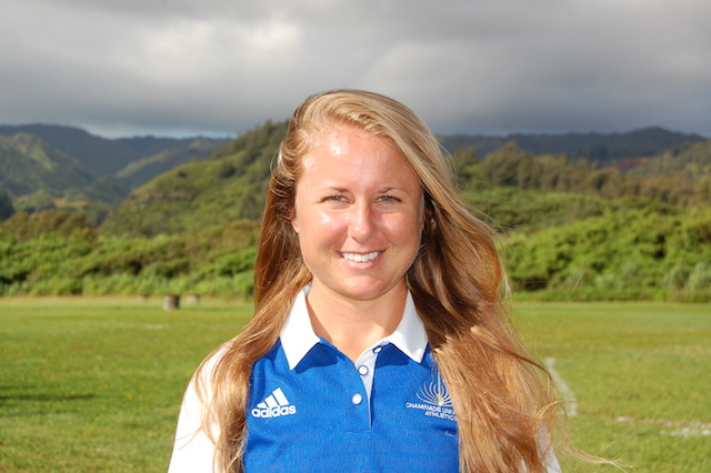 Kelsey Tomaszewski is Chaminade's new graduate assistant trainer.
