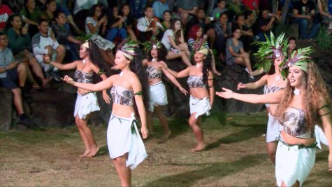 Tahitian Club allures onlookers with its performance.
